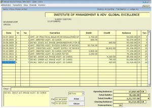 Automated Accounts Management System